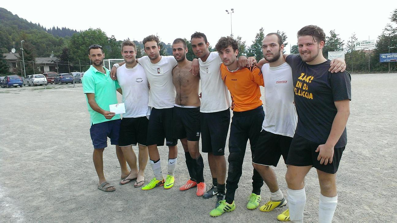 Rock Soccer 2014 - 1a classificata: Valle Scrausi